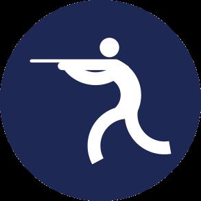 Icon Logo Menembak Asian Games 2018