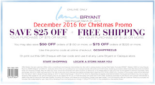 Lane Bryant coupons for december 2016
