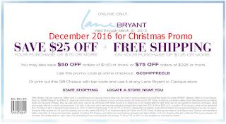 Lane Bryant coupons for december 2016