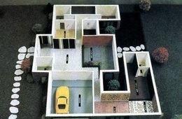 المجسمات والنماذج المعمارية