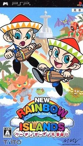 Rainbow Islands Evolution - PSP - ISO Download