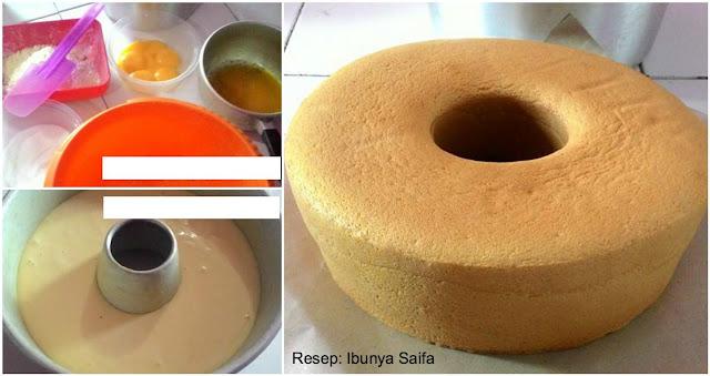 Resep Sponge Cake Lembut. Tanpa Pengembang Sama Sekali!