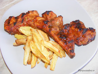 Coaste de porc barbeque retete culinare,