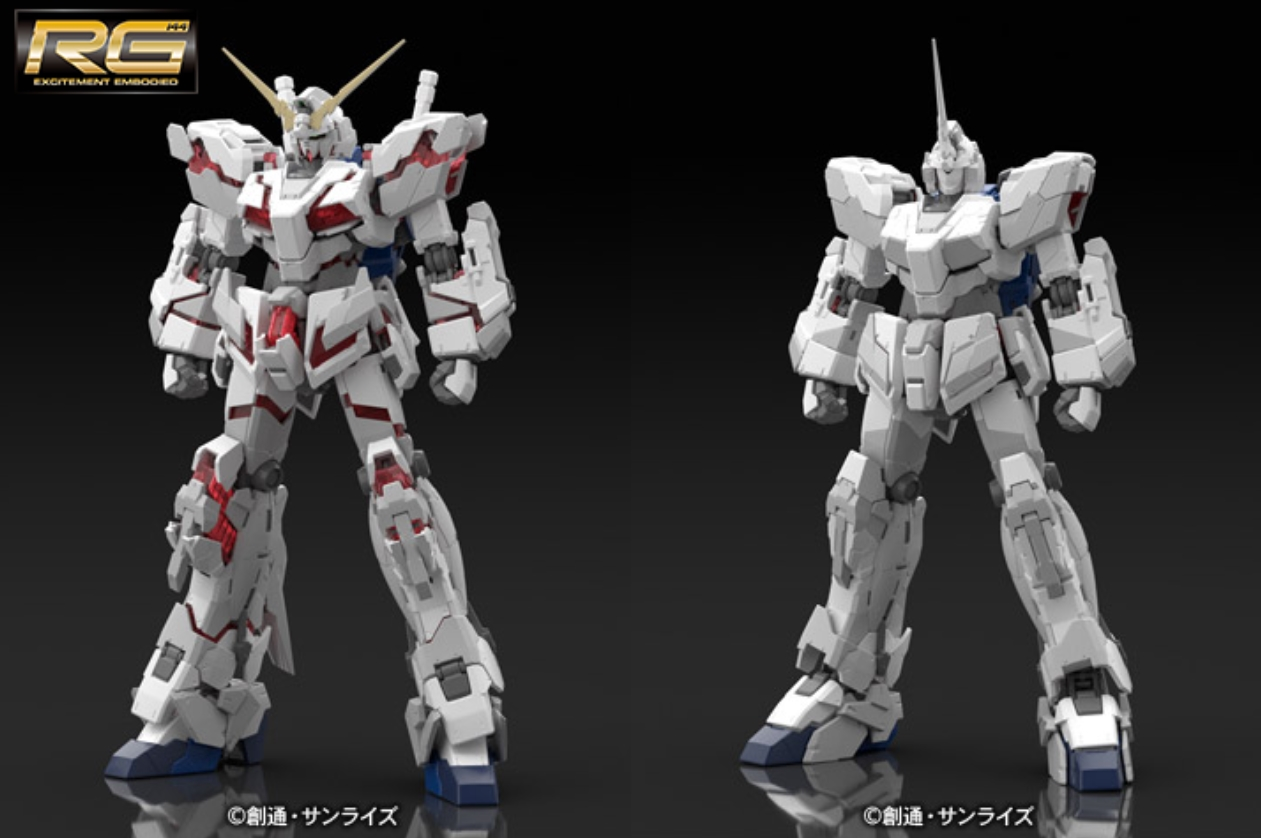 Image result for RG unicorn Gundam