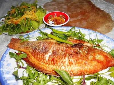 Làm món cá diêu hồng nướng thơm ngon bổ dưỡng