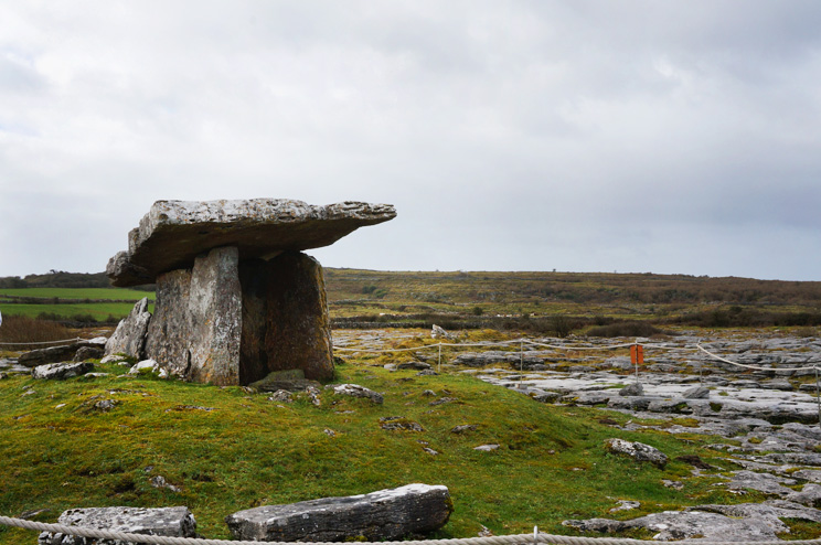 Poulnabrone Dolmen Tomb