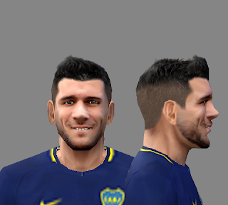PES 6 Lisandro Magallán (Boca Juniors) Face