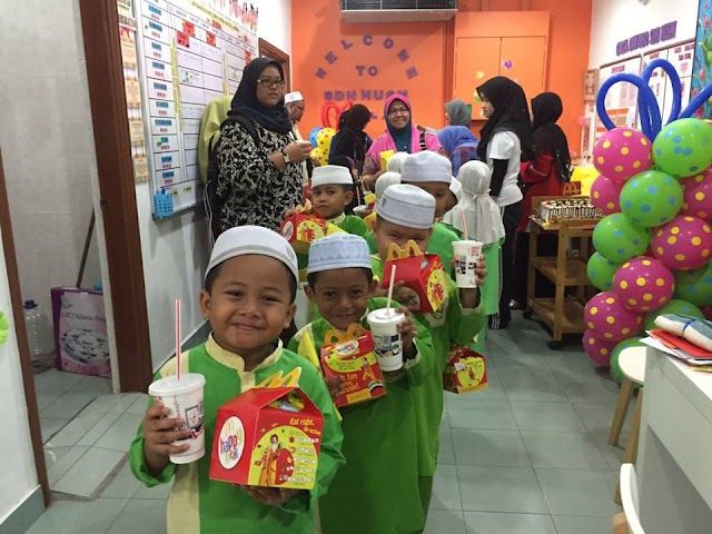McDonald's Kota Bharu Sambut Hari Kokurikulum Di Hospital! #McDonaldsMalaysia #McDonalds