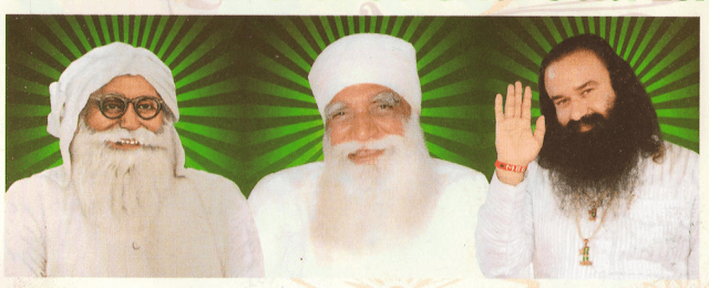 Gurmeet Ram Rahim Insan With Former Saint Dera Sacha Sauda Sirsa HD Wallpaper Picture & Photo