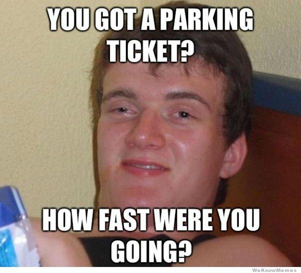 No Parking Ticket On Car