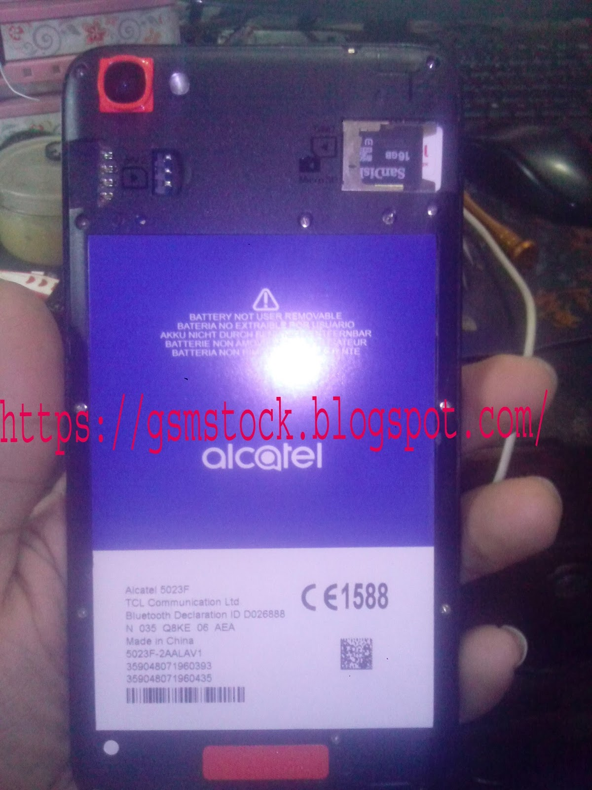 Firmware Flash File: Alcatel TCL 5023F-MT6580 6 0 Firmware
