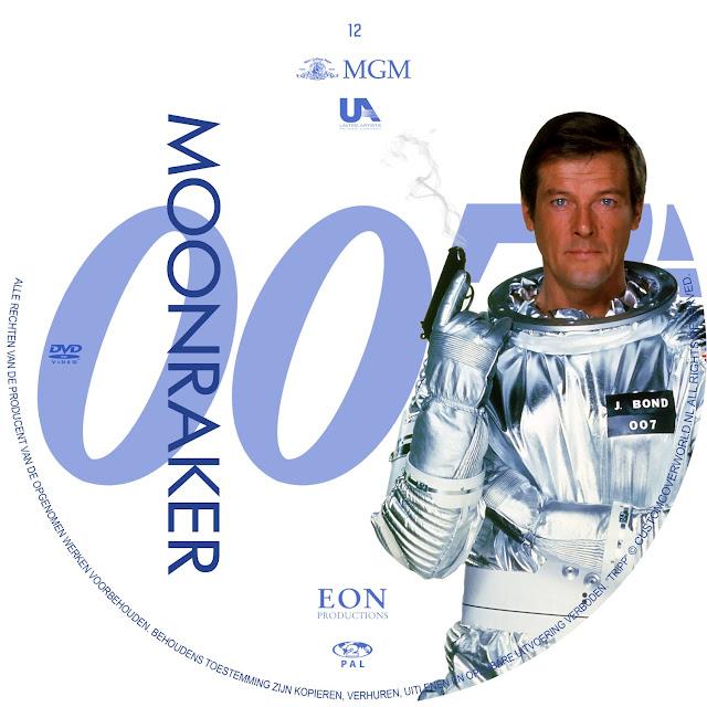 Label DVD 007 Moonraker