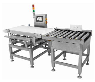 Large-Scale Check weigher