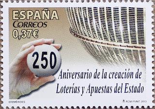 250 ANIVERSARIO DE LA CREACIÓN DE LOTERÍAS Y APUESTAS DEL ESTADO