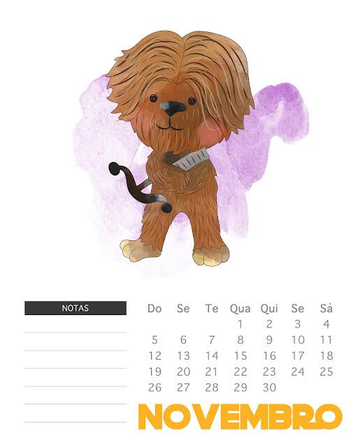 http://thecottagemarket.com/2016/12/free-printable-2017-watercolor-star-wars-calendar.html