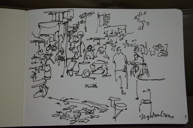 Affordable Art Fair Singapore Urban Sketchers usksg