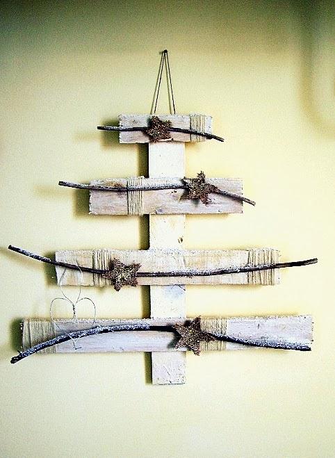 Risultati immagini per decorazioni natale legnetti