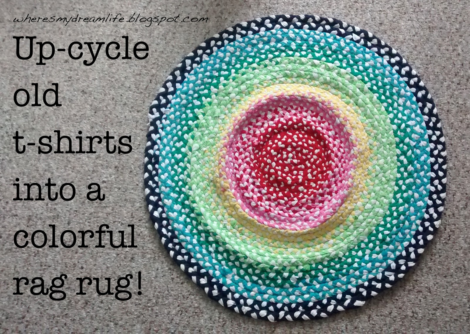Diy T Shirt Rag Rug
