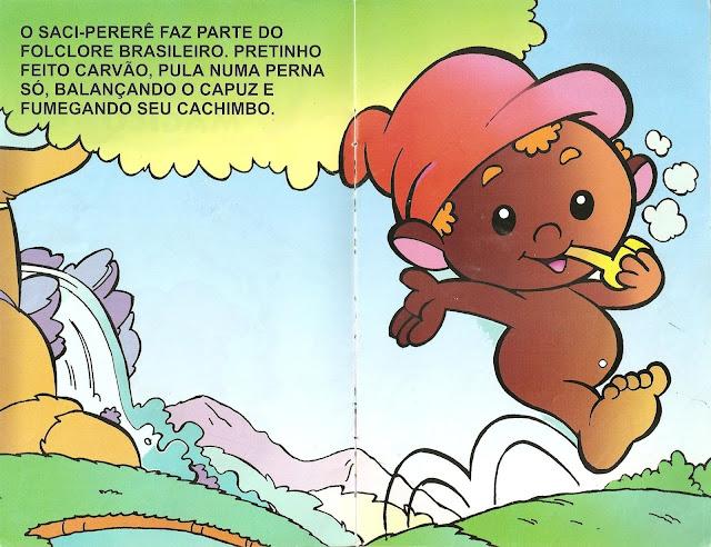 História do Saci Pererê Infantil