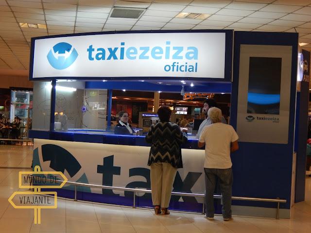 Taxiezeiza táxi oficial do aeroporto de Buenos Aires