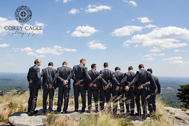 funny groomsmen | Corey Cagle Photography