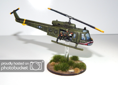1st place: Vietnam Air Cav, by Matt of Munslow - wins £20 Pendraken credit, and 5 painted buildings from Escenografia Epsilon!