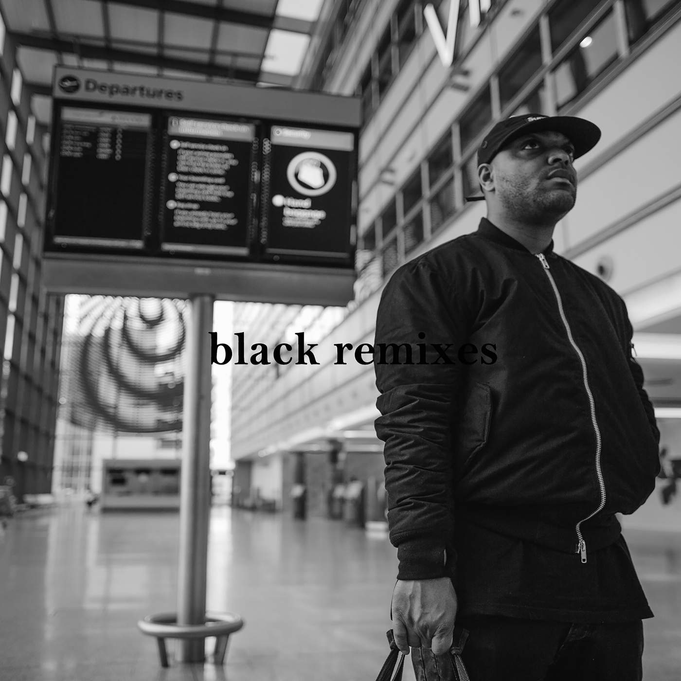 Donae´o - Black (Remixes) - Single Cover