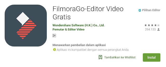 aplikasi edit video terbaik di playstore yang bisa kalian langsung unduh yah tanpa watermark dengan banyak fitur