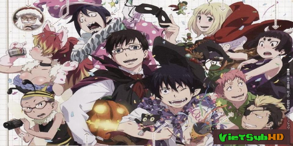 Phim Ao No Exorcist Movie Full VietSub HD | Ao No Exorcist Movie 2013