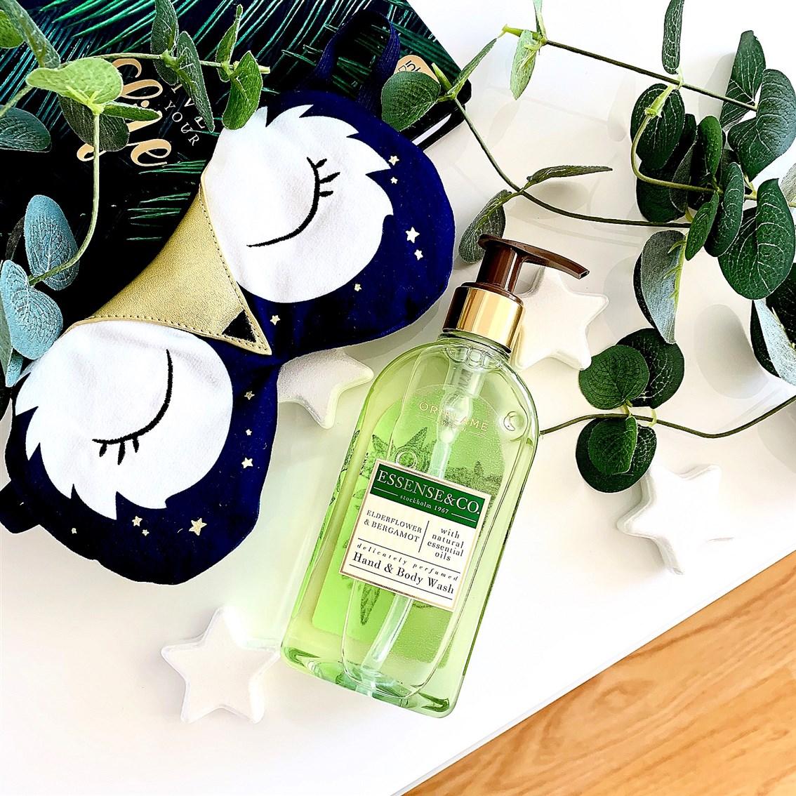 Oriflame Essence&Co Żel do mycia rąk i ciała kwiat dzikiego bzu i bergamotka