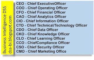 керівництво організації CEO, CIO, COO, CFO, CAO.CTO,CMO,COO