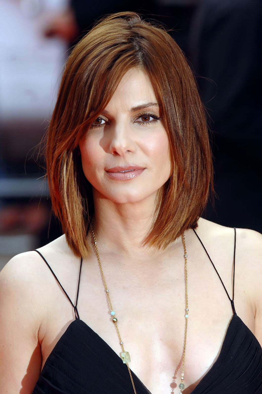 A New Life Hartz Sandra Bullock With Different Hairstyle