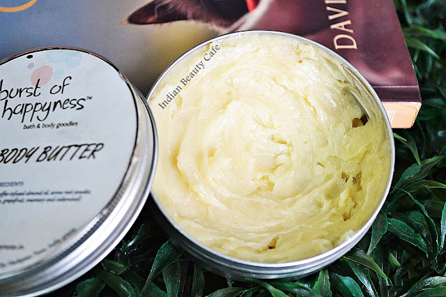 Burst of Happyness Coffee Body Butter consistency