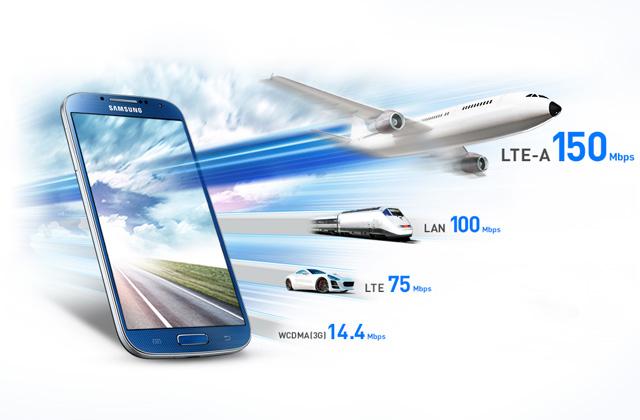 LTE-Advanced speed comparison