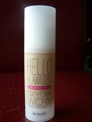 revue fond de teint liquide Hello Flawless Oxygen Wow Benefit