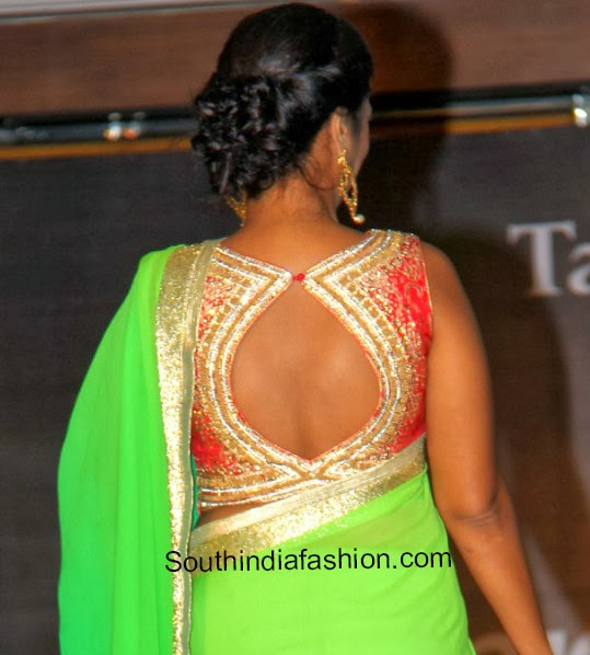 blouse back neck designs � south india fashion