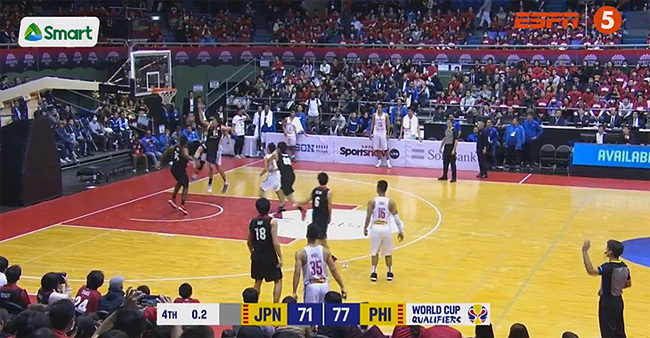 Gilas Pilipinas def. Japan, 77-71 (REPLAY VIDEO) November 24 | FIBA World Cup Asian Qualifiers