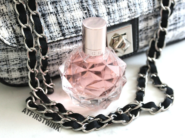 Ari by Ariana Grande fragrance chain bag