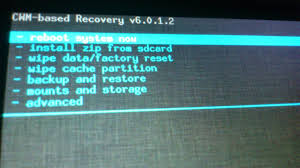cara mengatasi Android system recovery 3e