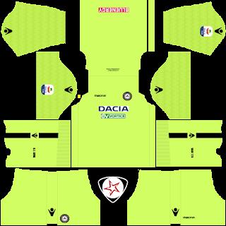 Udinese Calcio 2018 - 2019 GK Home Kit