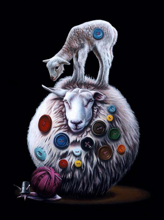 Bizarre Animal Paintings-6