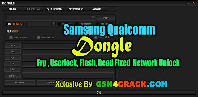 Samsung Qualcomm Dongle Tool 2019। Frp ,Userlock, Flash, Dead Fixed, Network Unlock