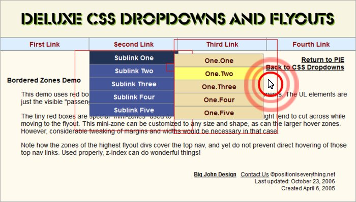 Deluxe CSS Dropdowns and Flyouts