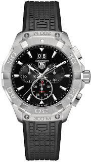 TAG HEUER Aquaracer Black Dial Chronograph CAY1110.FT6041
