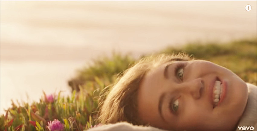 Miley Cyrus Malibu Lyrics Video Loveheaven07