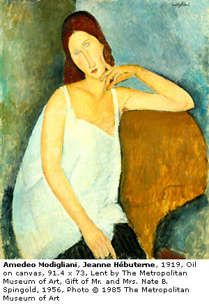 Time Difference Painting Amedeo Modigliani S Paintings