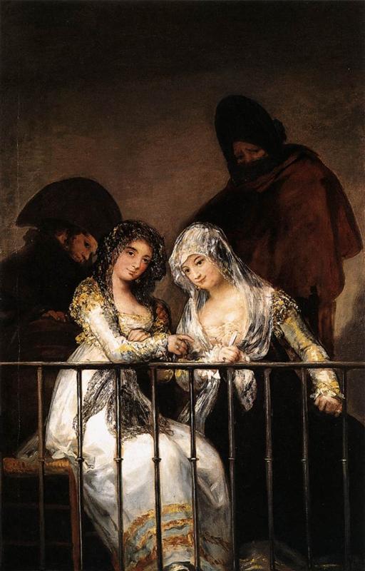 Francisco Josе de Goya Махи на балконе