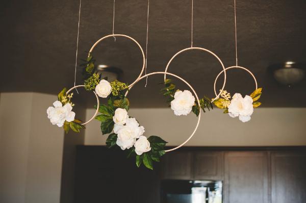 floral hoop wreaths