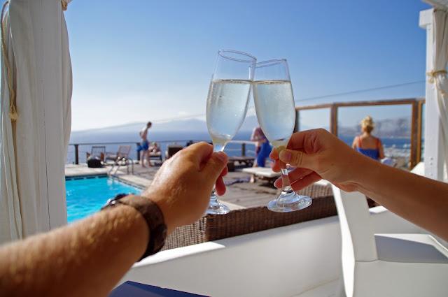 Cocktails at Tharroe of Mykonos