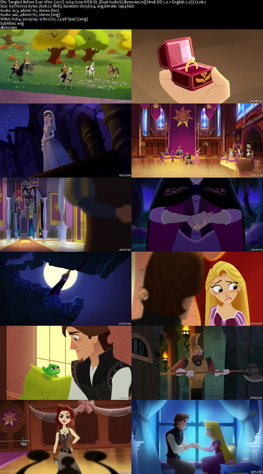 screen shot Tangled Before Ever After 2017 Full Movie Download Dual Audio 720p